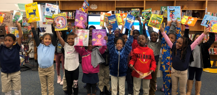 Reading is Fundamental Free Books to First Graders