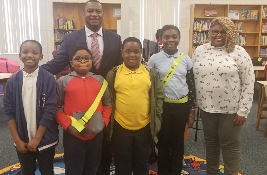 3rd, 4th and 5th Grades' Spelling Bee Winners